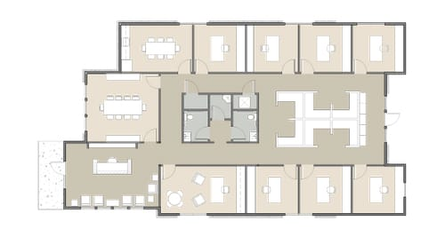 building 1 floor plan option 1