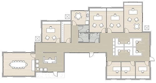 floor plan 1 for building 2 at Dominion Place