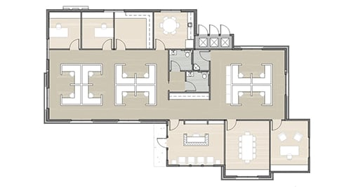 floor plan 01 for building 14 at Dominion Place