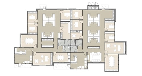 Dominion Place building 15 floor plan 01