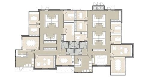 Dominion Place building 15 floor plan 01