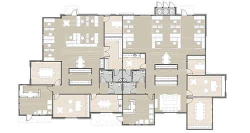 building 15 office building floor plan