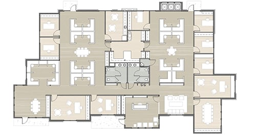Building 15 floor plan option