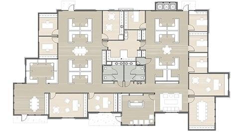 Building 15 floor plan option