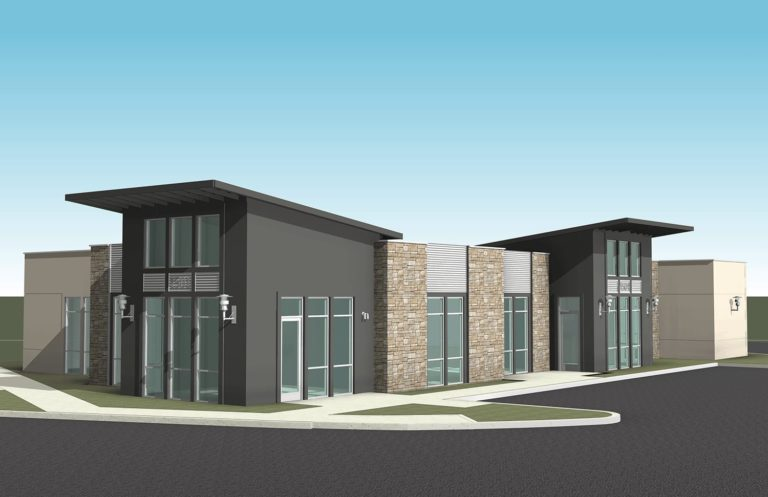 enter rendering of building 15